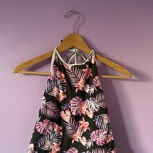PACSUN DOUBLE SIDED HALTER TOP